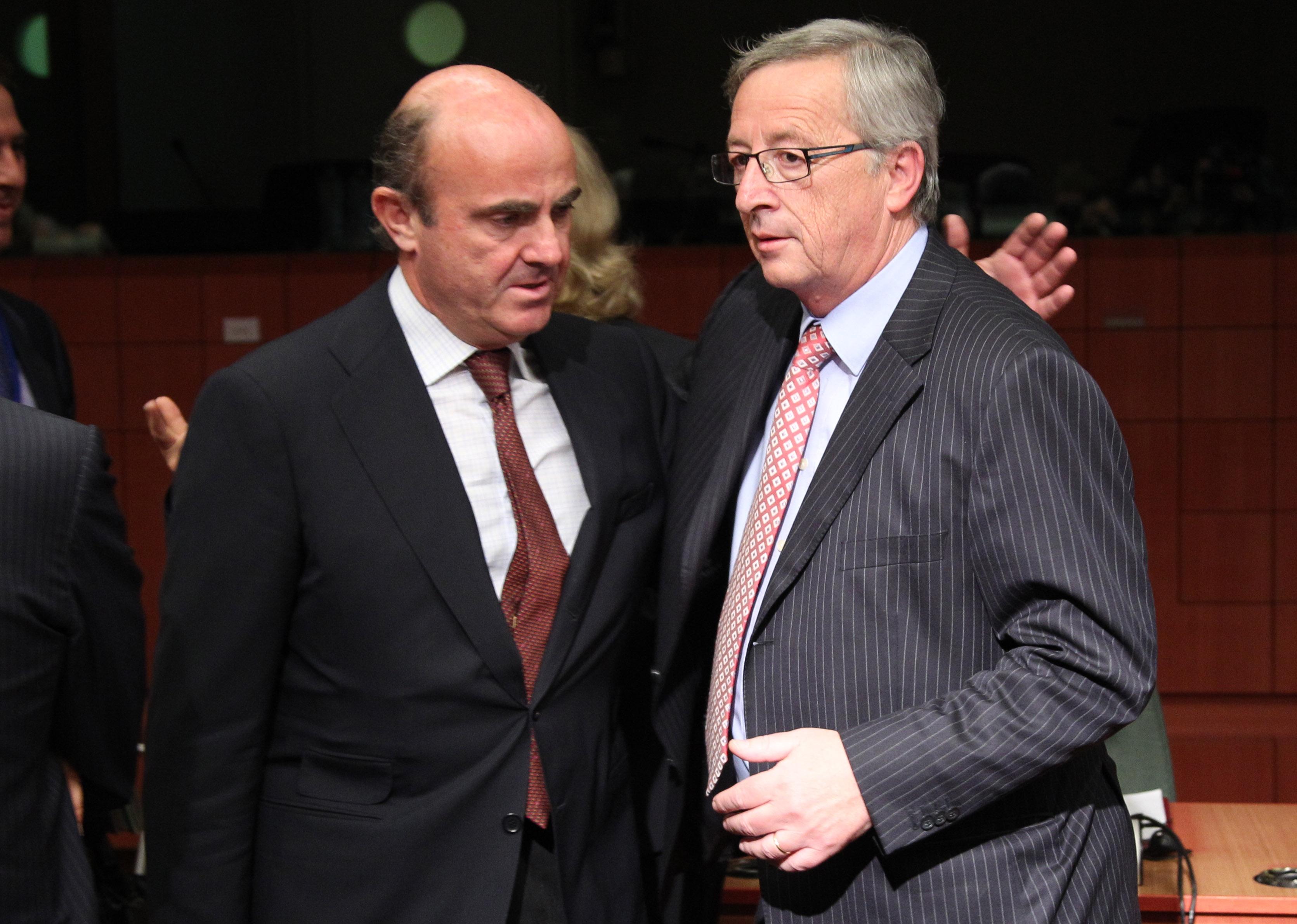el ministro de economía y el presidente del eurogrupo