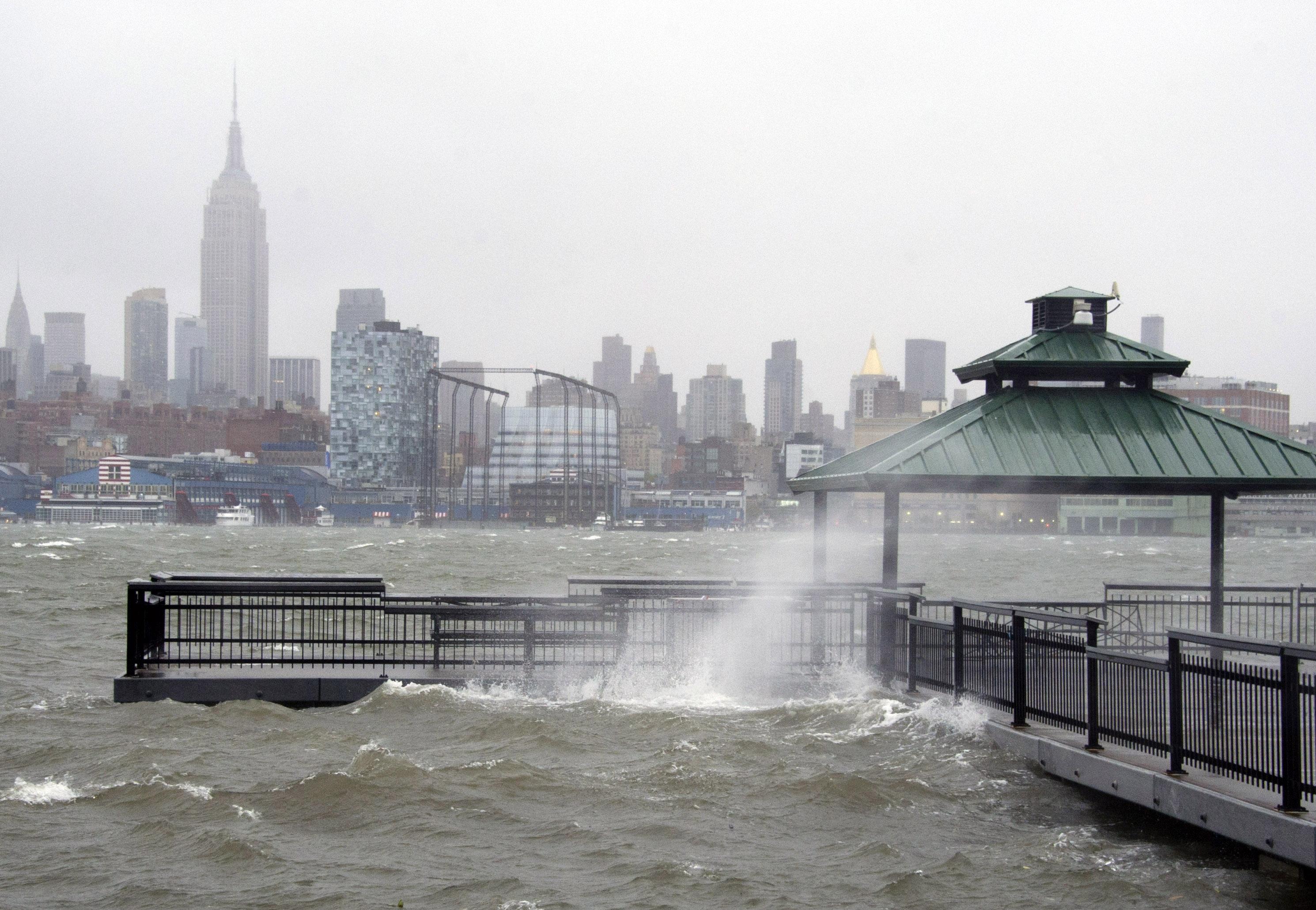 los efectos del huracán sandy en nueva york