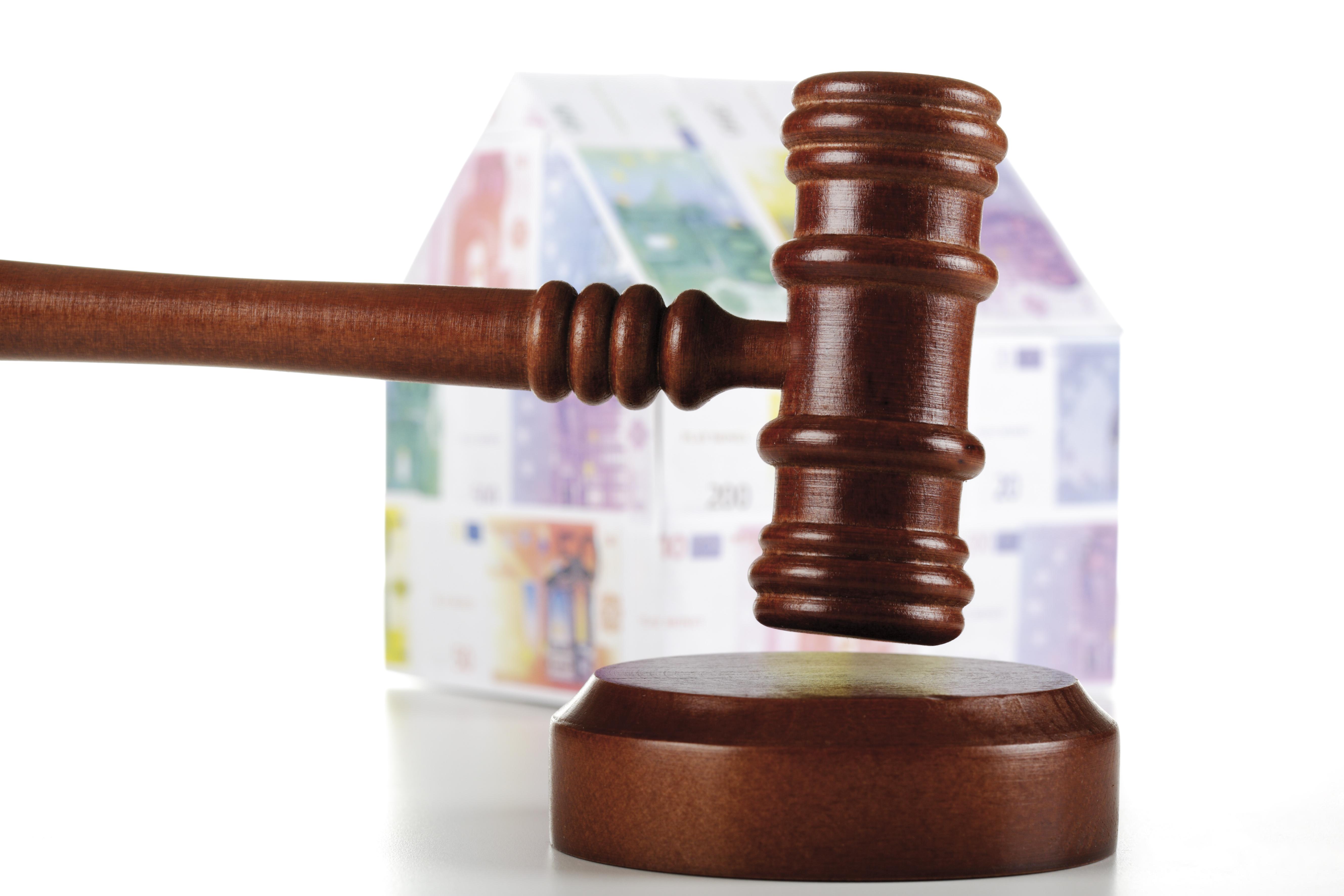 los juzgados están colapsados por las ejecuciones hipotecarias