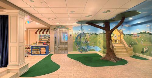 en las fotos podrs ver cuartos de juegos para nios donde podrs escoger ideas para almacenar los juguetes o decorar de las paredes