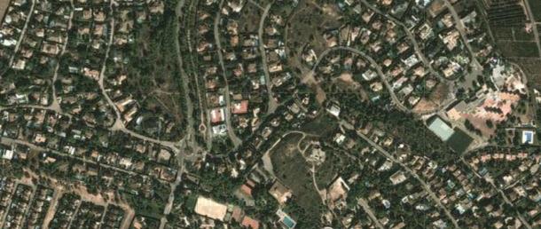 las fotos aéreas permiten descubrir ampliaciones de viviendas ilegales