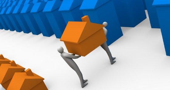 el banco de españa quiere reducir el stock de pisos de bancos