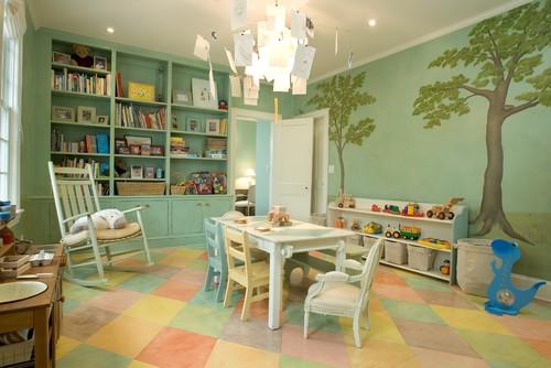10 espectaculares cuartos de juegos para niños