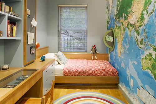 10 ideas de decoración para habitaciones pequeñas para niños (fotos)