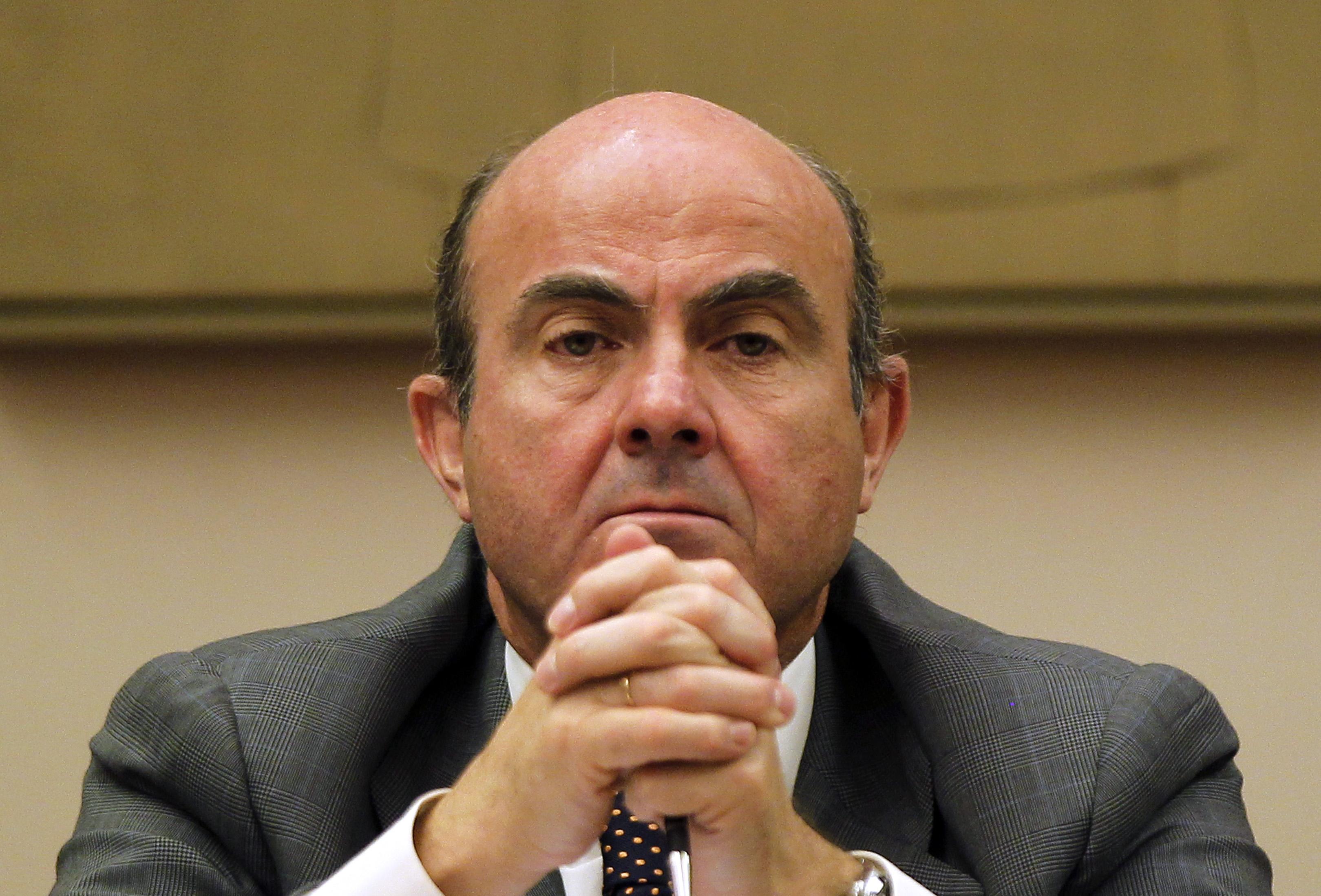 luis de guindos, ministro de economía competitividad