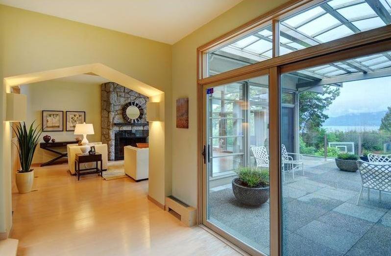 Casas de ensueño: una mansión abierta a la naturaleza en la zona más exclusiva de vancouver (canadá)
