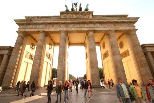 La Puerta de Brandeburgo en berlín