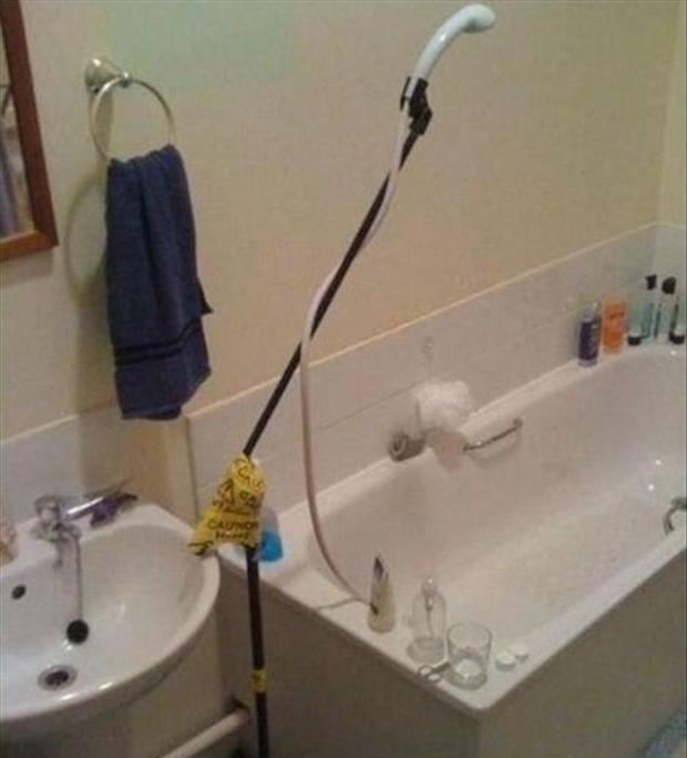 Las 13 mayores chapuzas vistas en un cuarto de baño (fotos)
