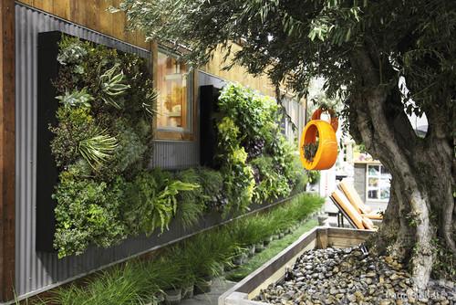 Ideas de decoración: jardines verticales caseros (fotos)