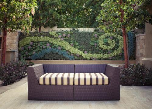Ideas de decoraci n jardines verticales caseros fotos for Jardines caseros colgantes