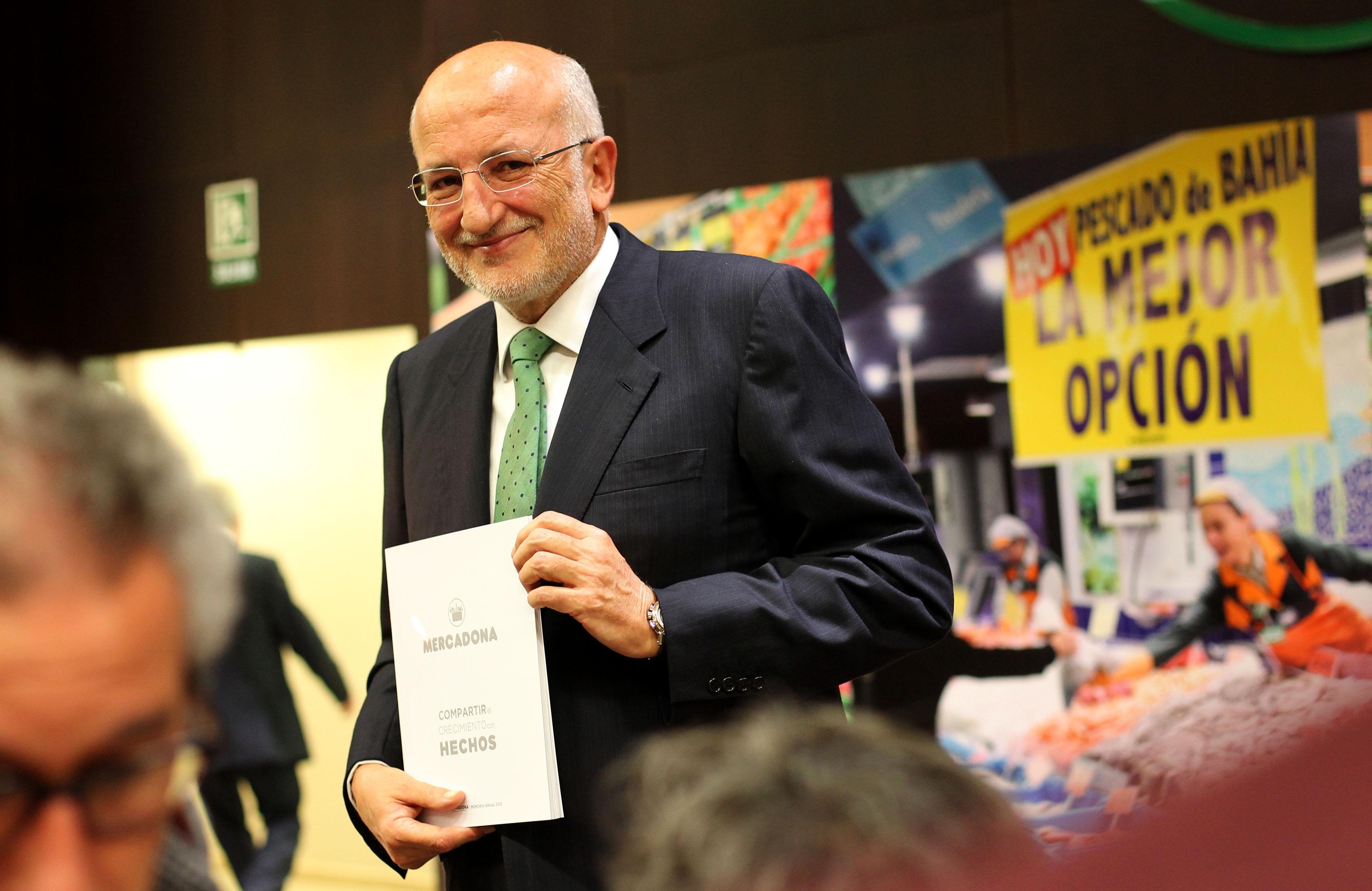 mercadona ganó 508 millones de euros en 2012