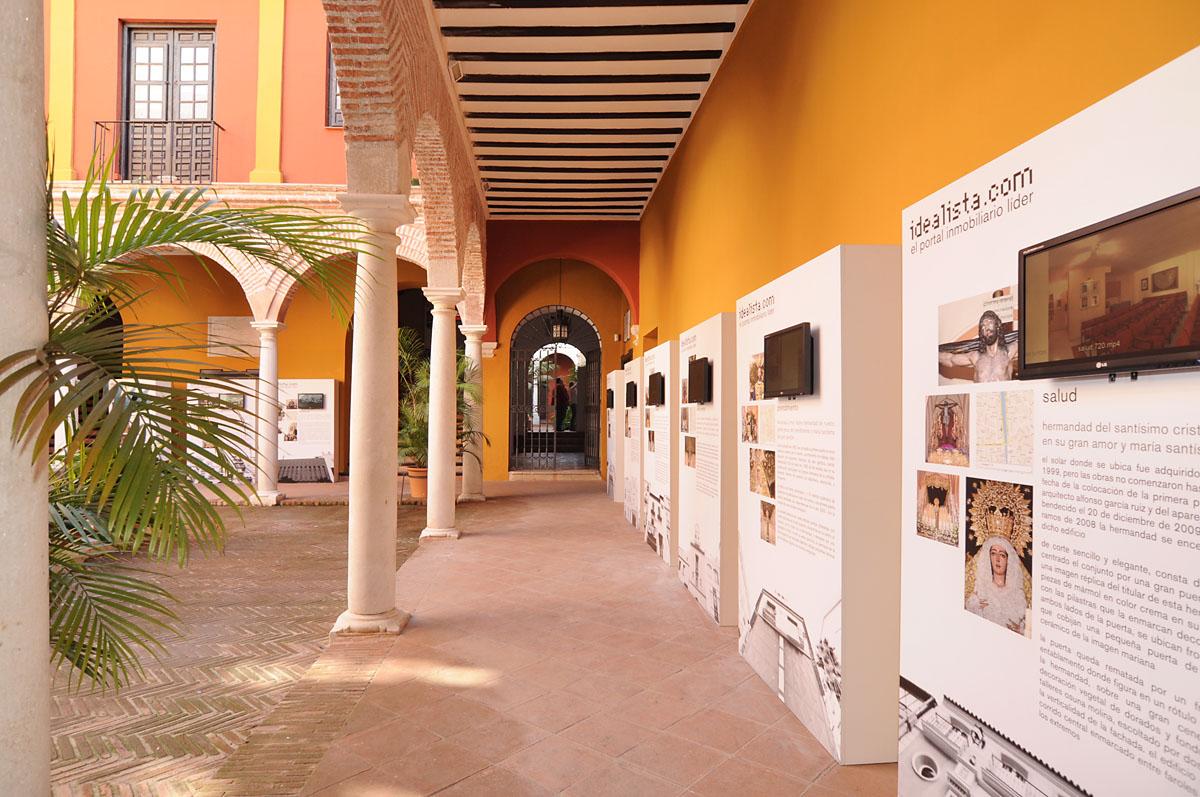 """idealista.com abre las puertas de las hermandades de málaga con la exposición """"las casas de la semana santa"""""""