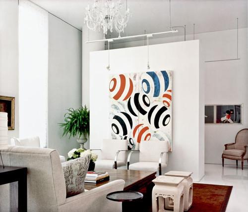 Ideas de decoración para esconder la televisión del salón (fotos ...