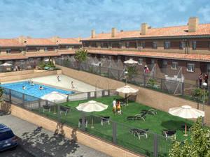 Las 24 casas nuevas grandes y con piscina m s baratas del for Piscina ciempozuelos
