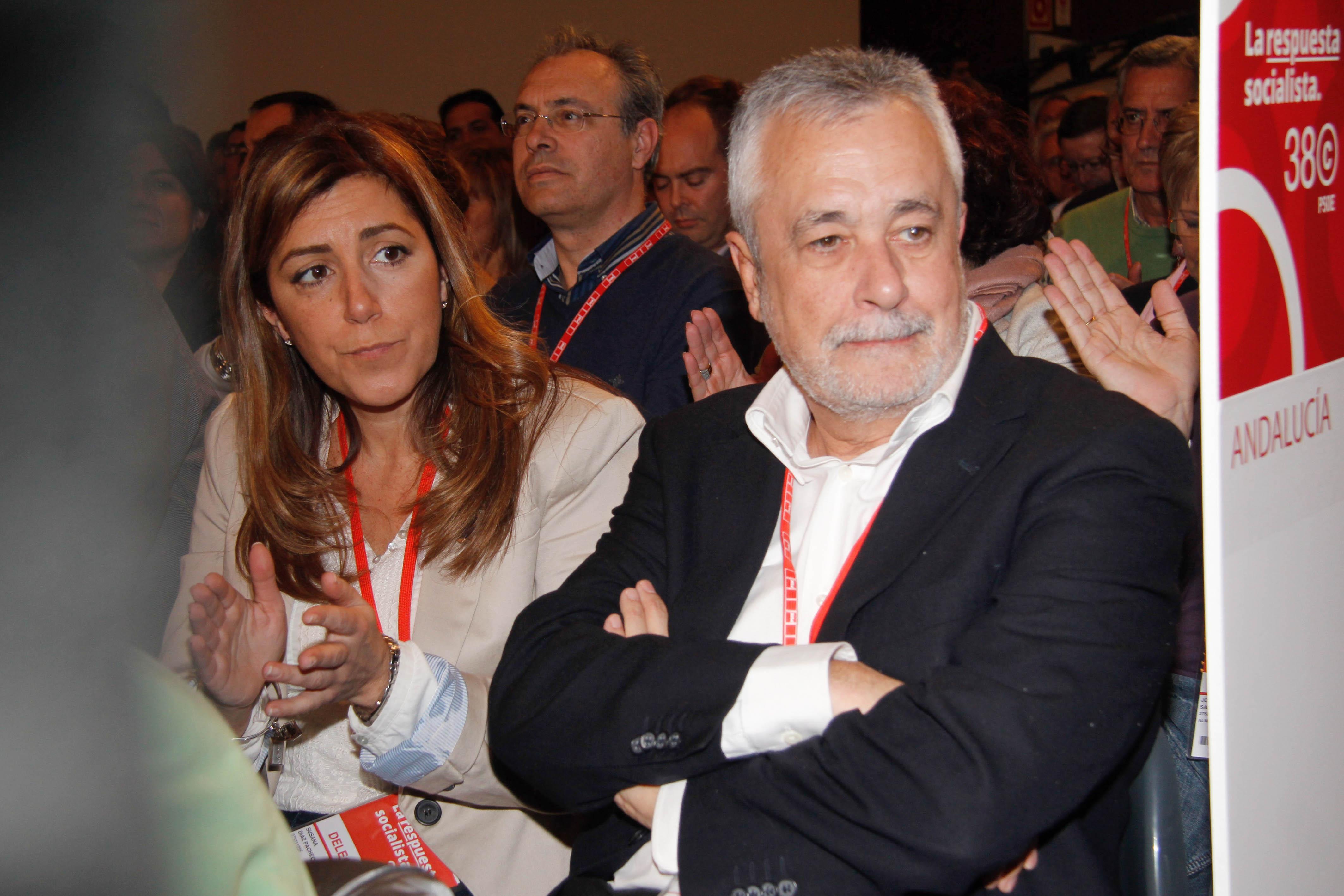 josé antonio griñán, presidente de la junta de andalucía