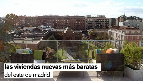Las 24 casas nuevas m s baratas del este de madrid for Viviendas baratas en madrid