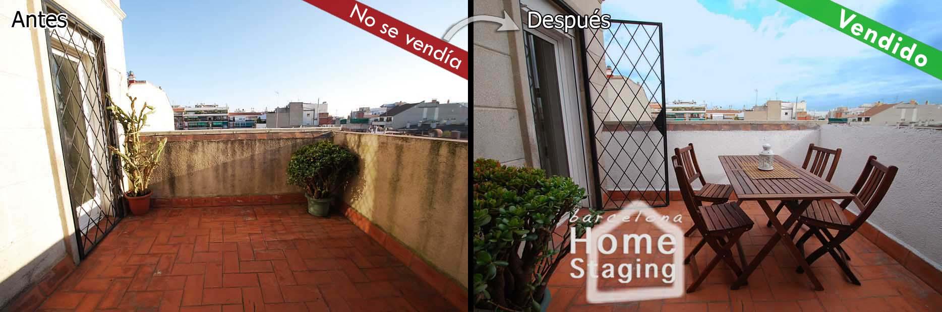 Piso feo piso bonito a la hora de venderlo no es lo mismo fotos idealista news - Como cerrar una terraza barato ...