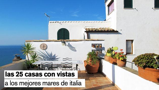 las casas con vistas a los mejores mares de italia