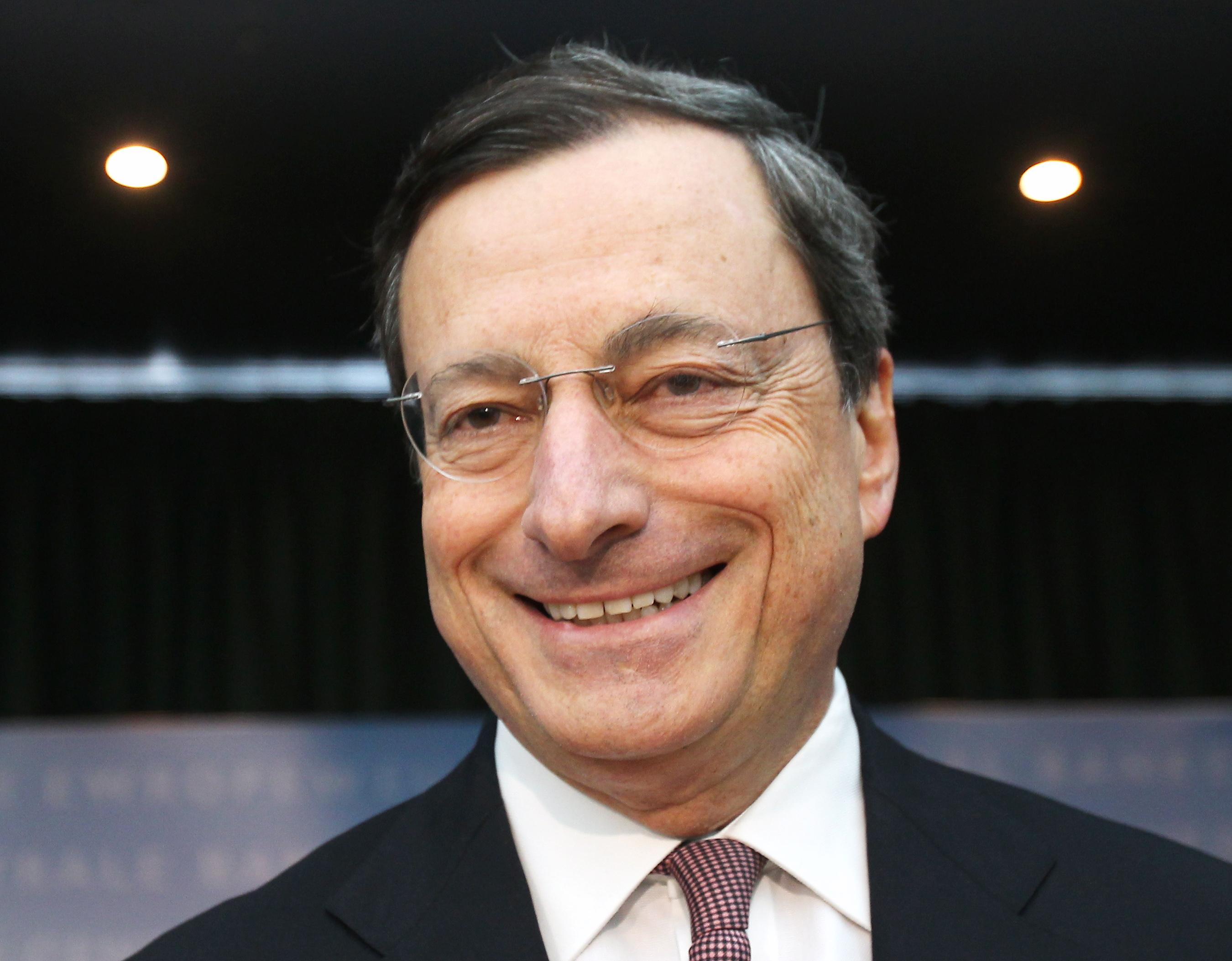 mario draghi, presidente del banco central europeo (bce)