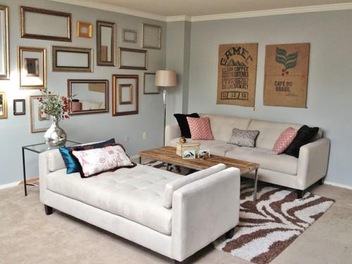 12 ideas de decoración para salones pequeños (fotos)