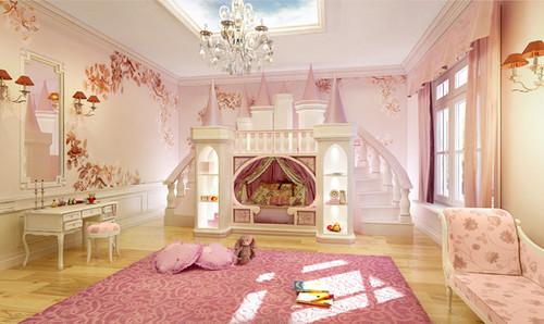 Habitaciones de princesas con una decoraci n exc ntrica - Habitaciones bebe barcelona ...