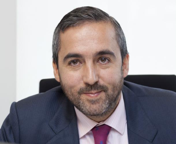 el director de activos inmobiliarios de sareb, juan barba