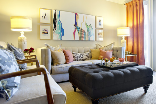 12 ideas de decoraci n para salones peque os fotos - Salones pequenos decorados ...