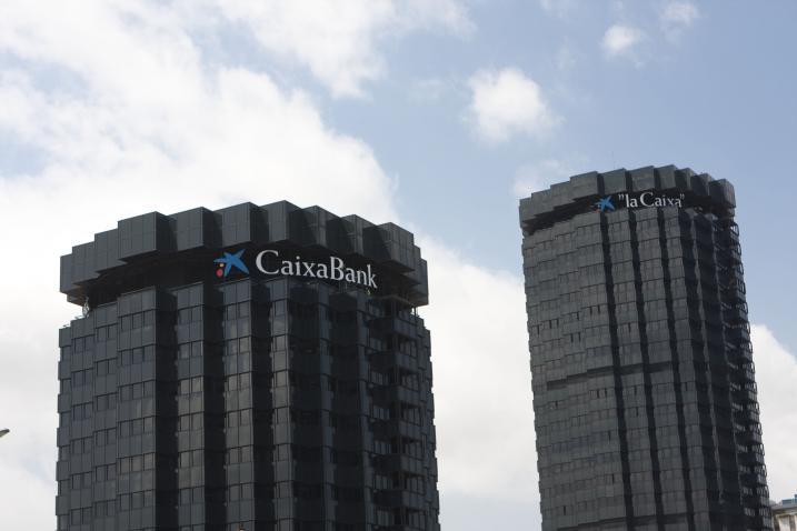 sede central de caixa bank y la caixa (barcelona)