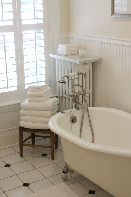 Ideas para decorar baños con estilo vintage (fotos ...