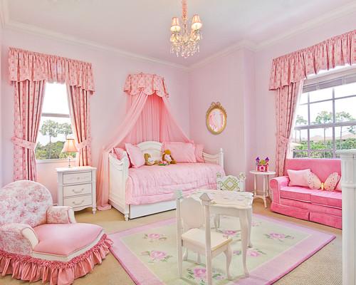Habitaciones de princesas con una decoración excéntrica (fotos)