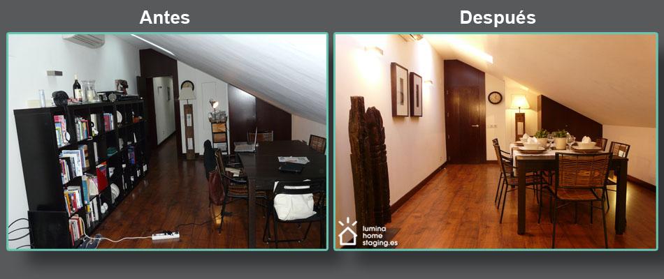 C mo ense ar una vivienda para su venta con hijos y un for Como decorar un piso viejo