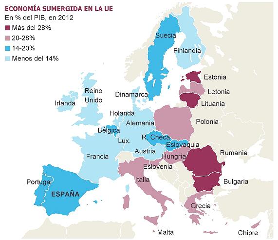 bruselas prepara un plan para luchar contra la economía sumergida en la ue