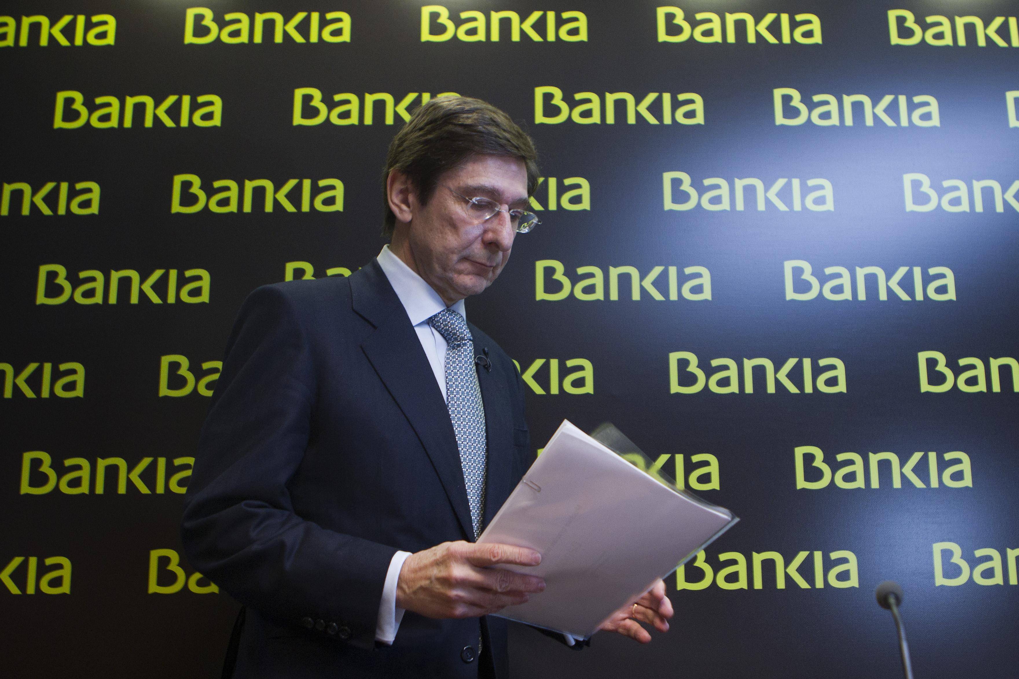 Jose Ignacio Goirigolzarri, el presidente de bankia