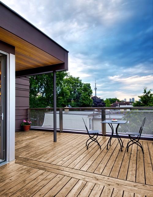 Ideas para decorar balcones y terrazas (fotos)