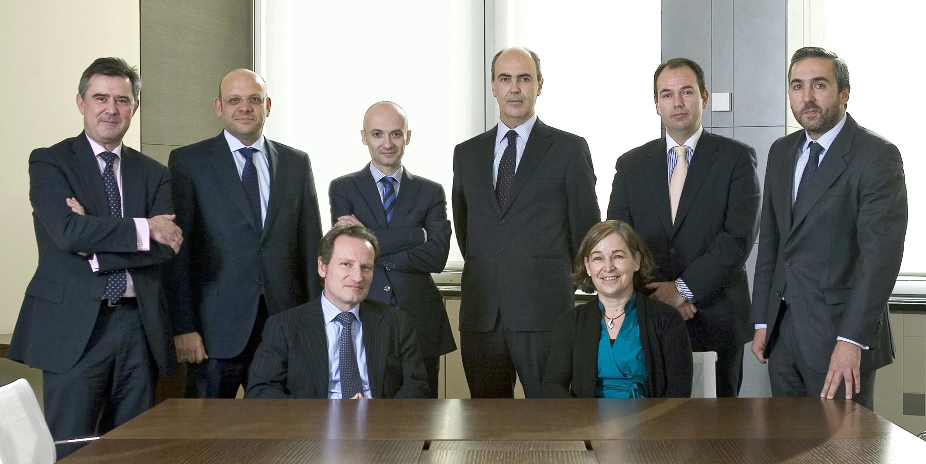 el equipo directivo de sareb