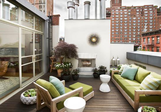 ideas para decorar balcones y terrazas fotos