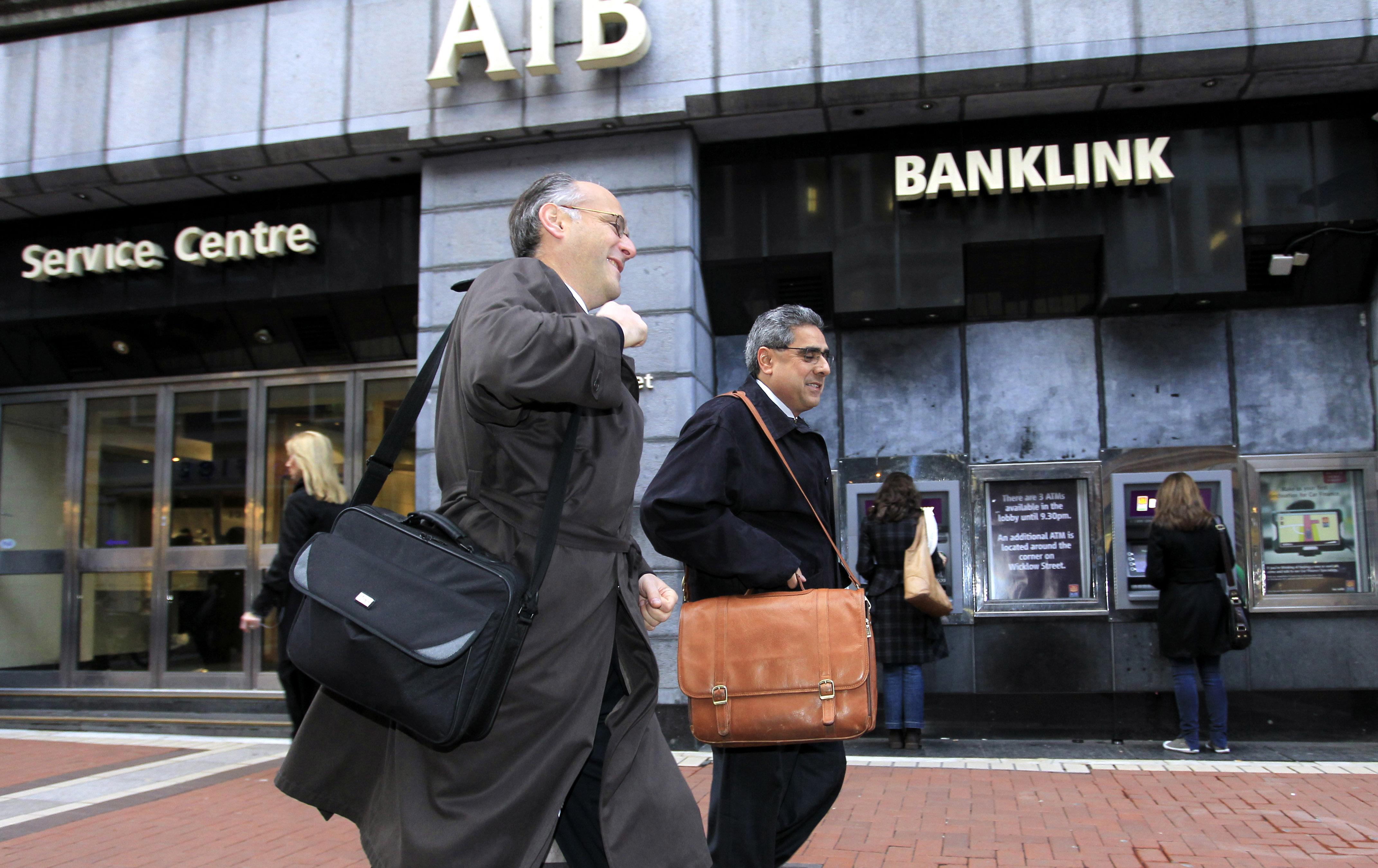 edificio del banco irlandés allied irish banks