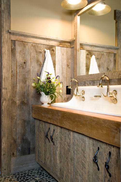 Baños Rusticos Originales:Rustic Barnwood Bathroom Ideas