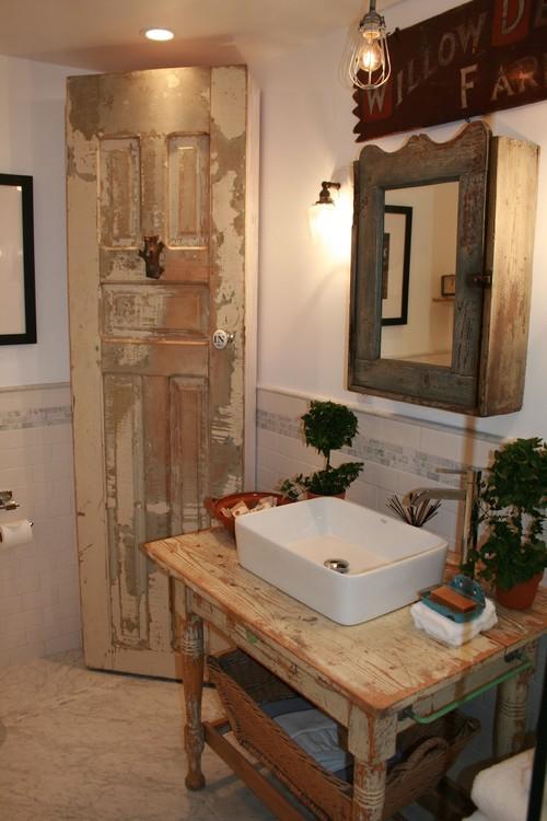 Muebles Para Baos Pequeos Simple Beautiful Bano Rustico Con Muebles