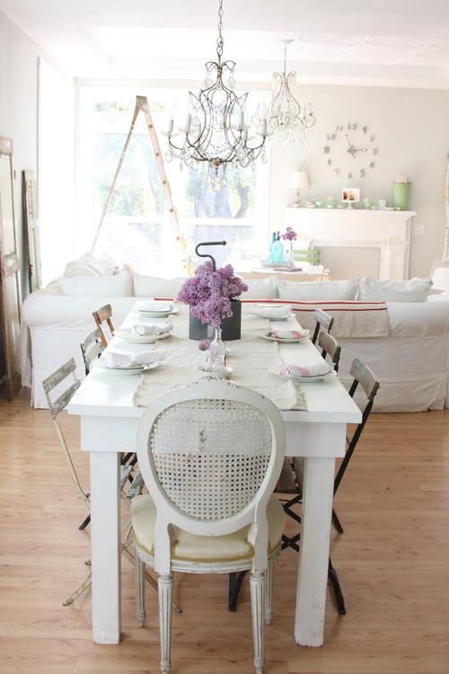 Ideas para decorar el sal n con estilo vintage fotos - Decoracion de salones estilo romantico ...
