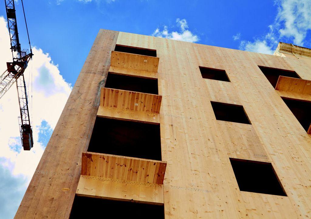 el edificio más alto de españa con estructura de madera estará en lleida