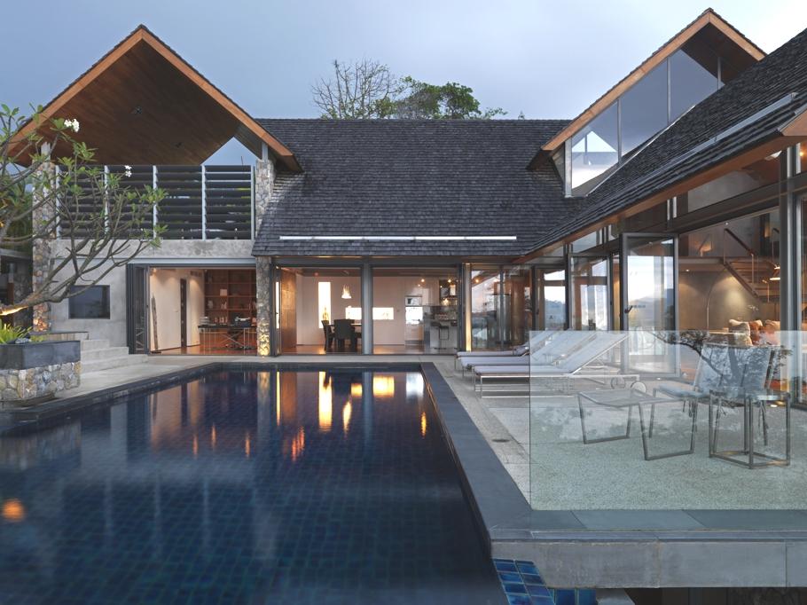 Casas de ensue o el resultado de adaptar el estilo for Casas modernas idealista