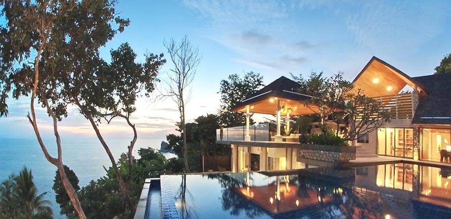 Casas de ensueño: el resultado de adaptar el estilo asiático a una mansión moderna