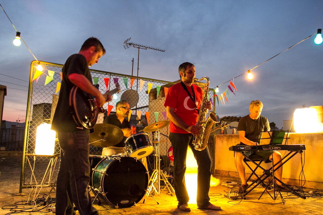 imagen de uno de los conciertos del festival