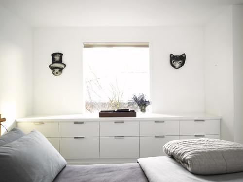 4 sencillas ideas para amueblar un dormitorio peque o - Cabeceros con compartimentos ...