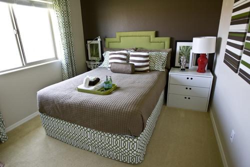 4 sencillas ideas para amueblar un dormitorio peque o for Disenos de roperos para dormitorios pequenos