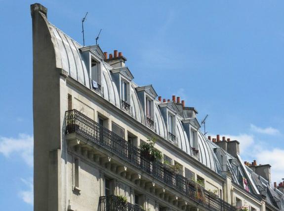 edificio Haussmann, francia
