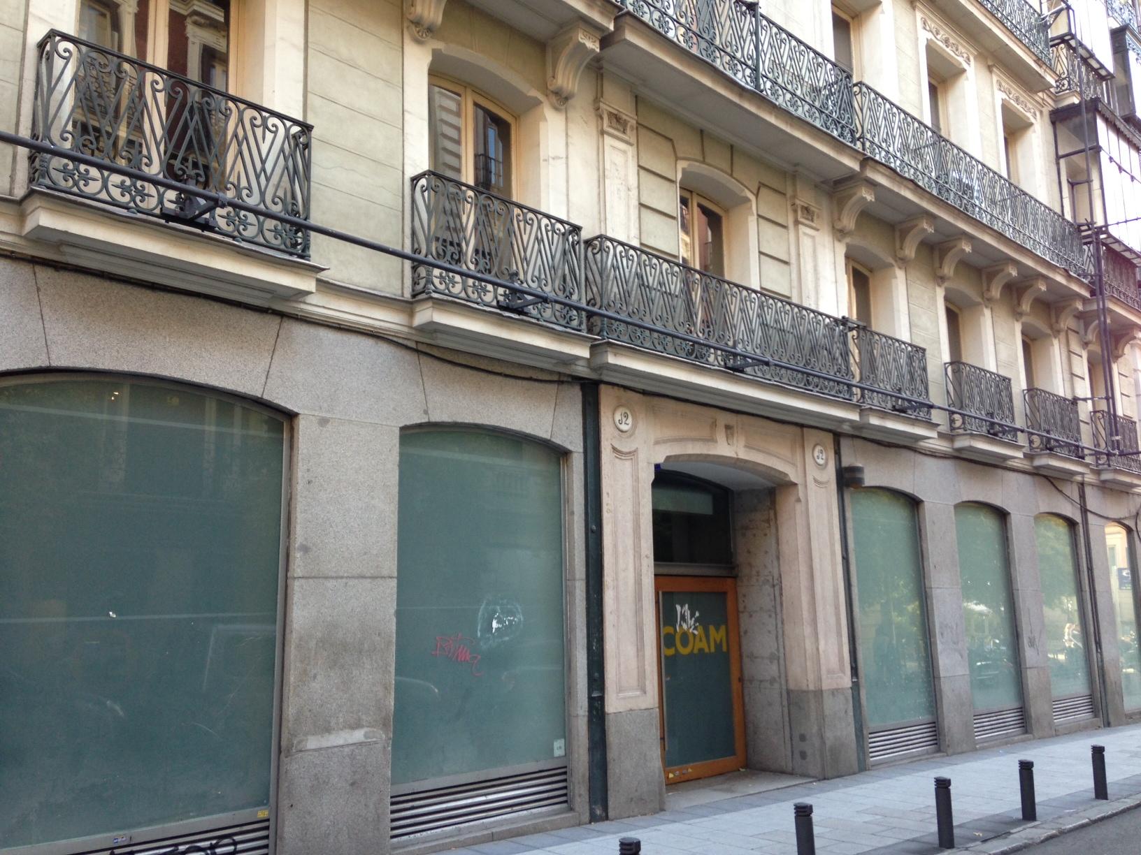 antigua sede del coam en la calle barquillo de madrid
