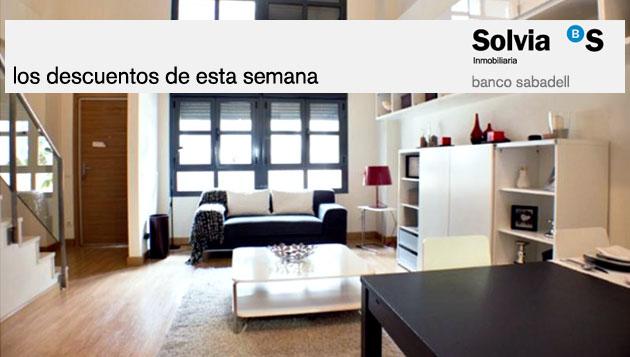 Solvia pone a la venta viviendas locales y garajes for Pisos banco sabadell