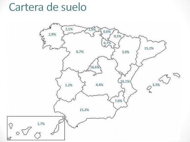 Mapas de la cartera de viviendas de suelo y de pr stamos - Pisos bankia habitat ...